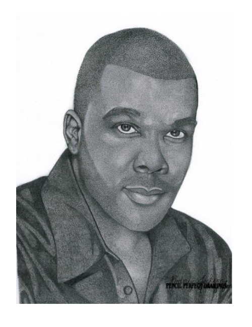 clip black and white download Drawing portrait photography. Tyler perry pencil perfect