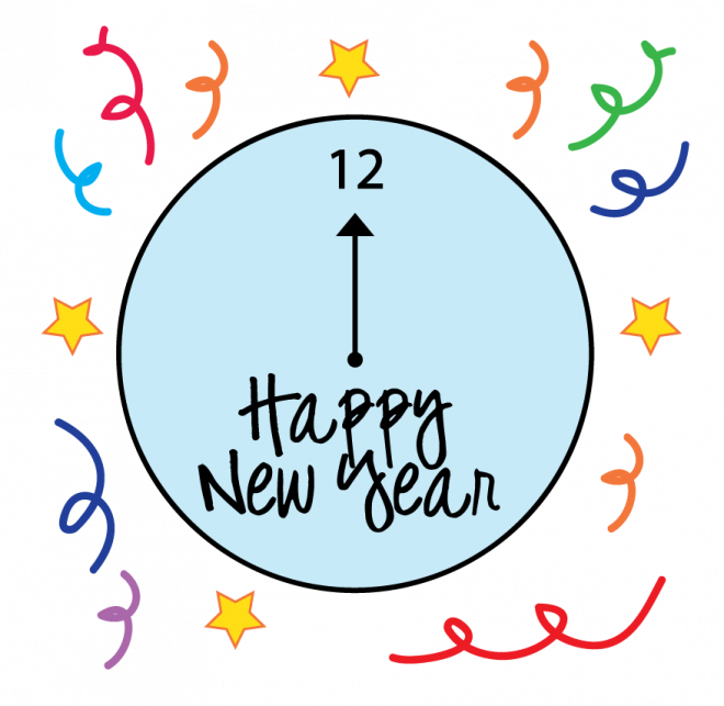 picture Years clipart new year. Real and vector graphics