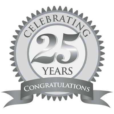 free download 25th anniversary clipart #56783536