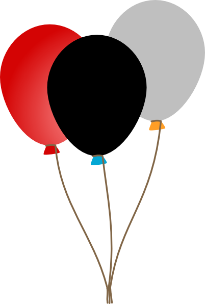 clipart royalty free library 3 balloons clipart #56477075