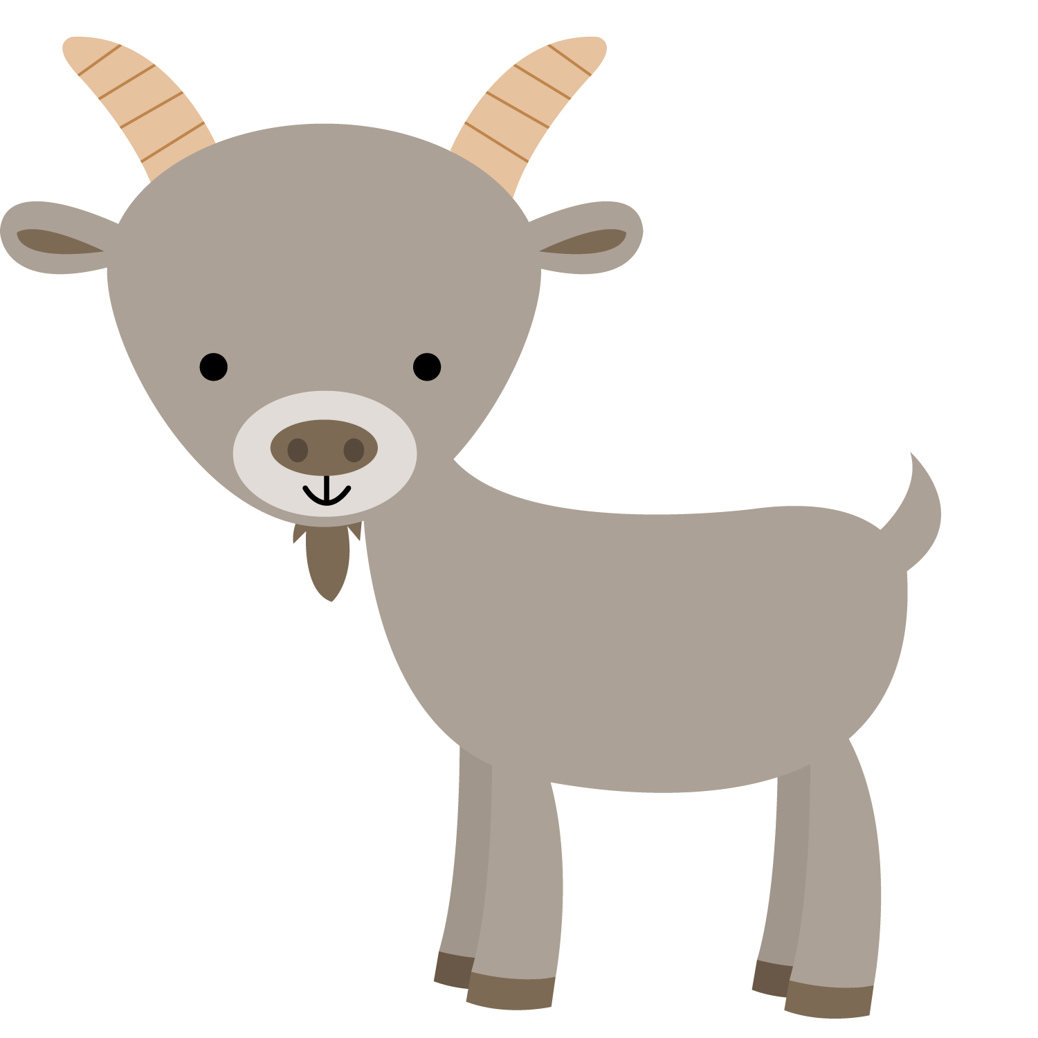 clip art library library Kid Goat Clipart