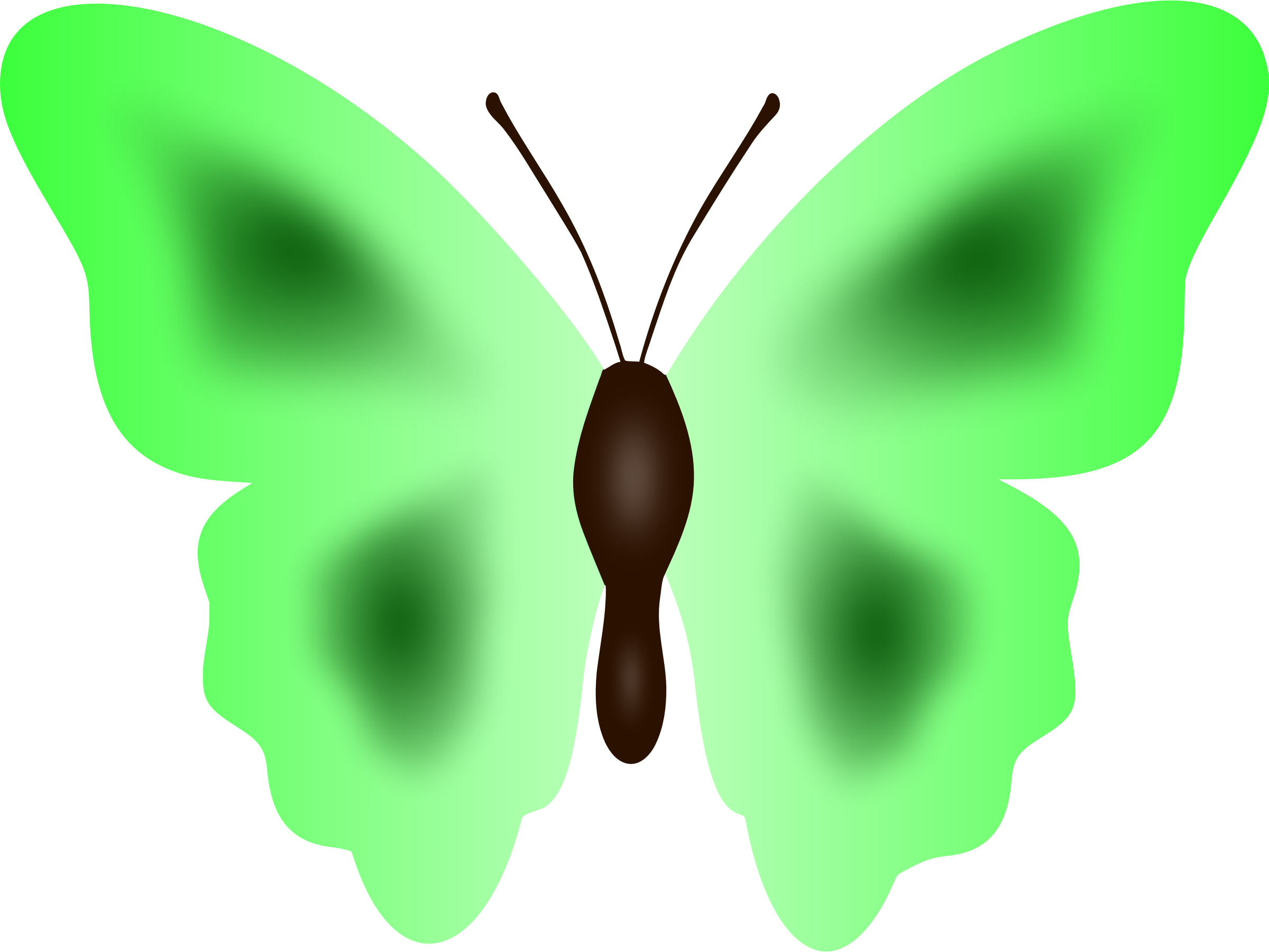 black and white 3 clipart butterfly. Colour big image png