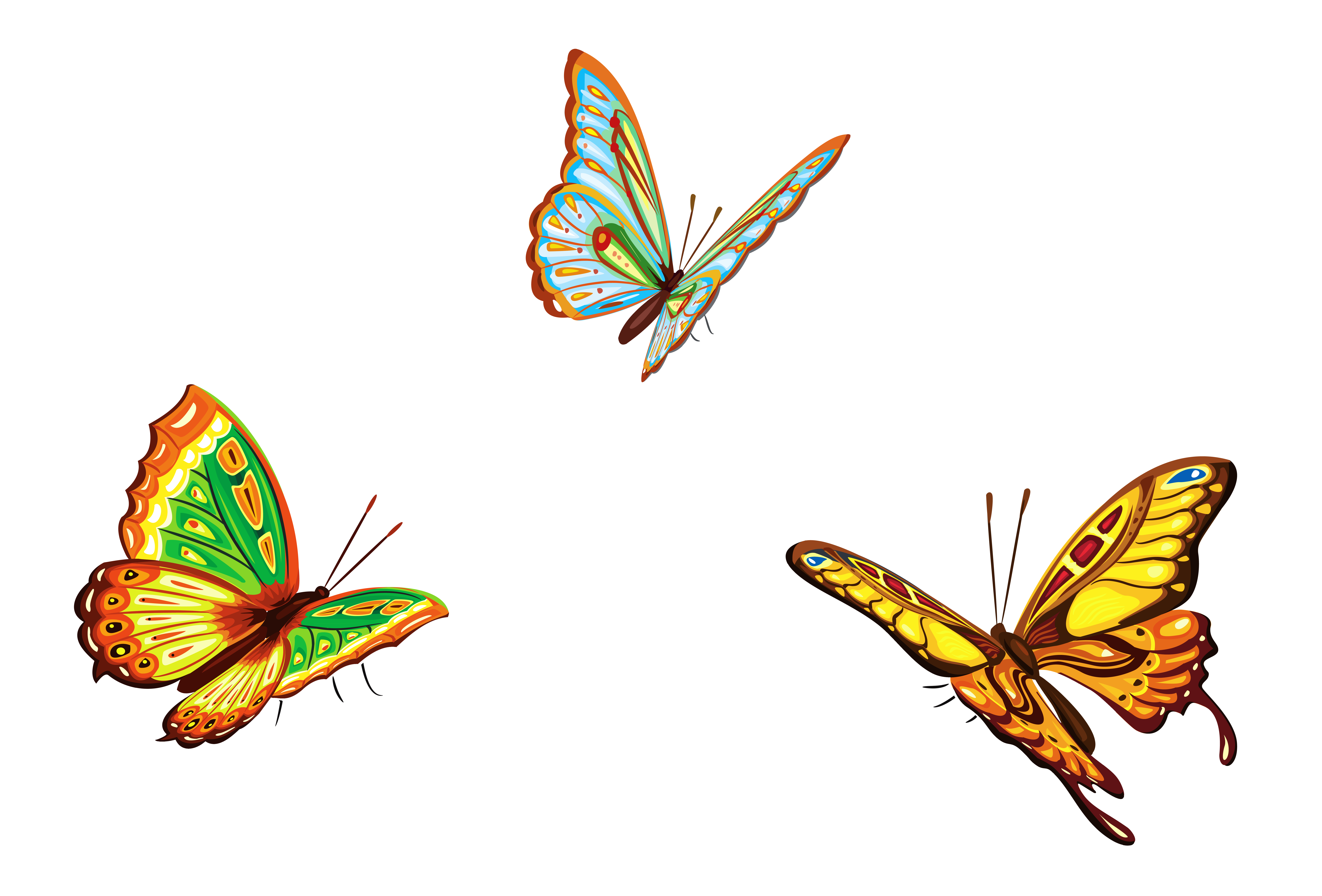 svg free library Free butterflies image download. 3 clipart butterfly