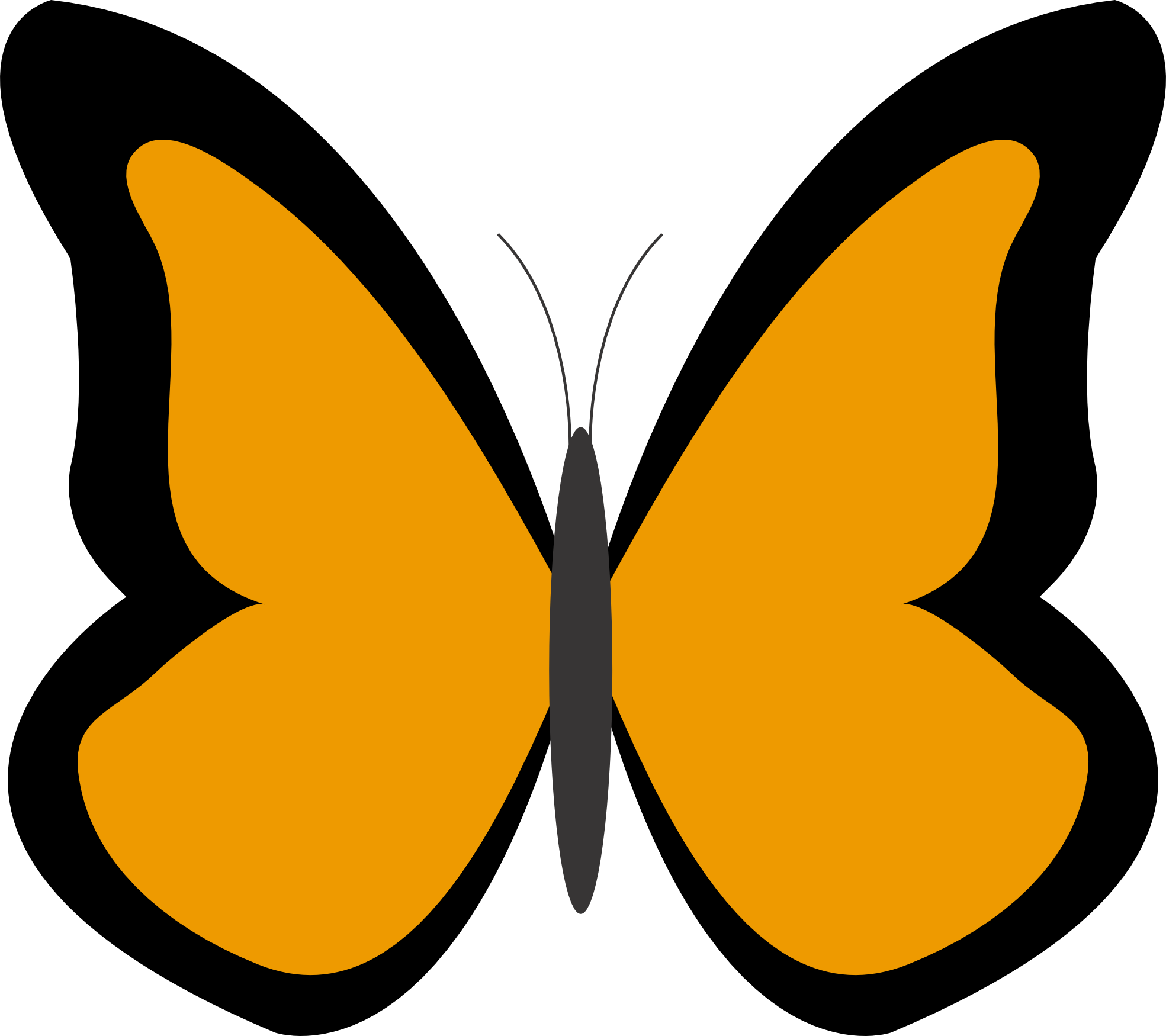 png stock Color colour panda free. 3 clipart butterfly