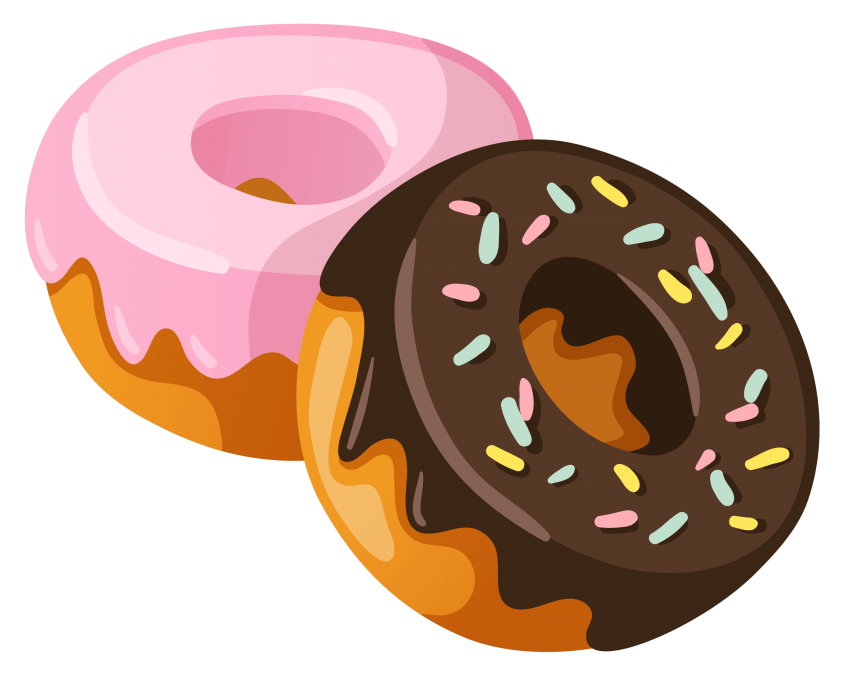 clipart transparent library Png free images toppng. 3 clipart donut