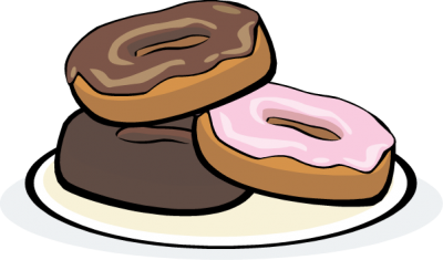 clip art royalty free library 3 clipart donut. Clipartaz free collection cartoon