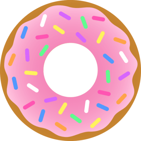 clipart transparent library 3 clipart donut. Png free images toppng
