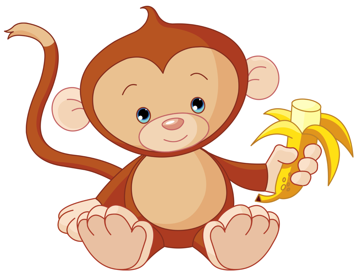 banner royalty free download 3 clipart little monkey. Png picture video game.