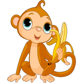 vector free download Monkeys cartoon clip art. 3 clipart little monkey.