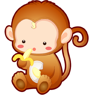 clip library Funny baby pictures monkeys. 3 clipart little monkey.