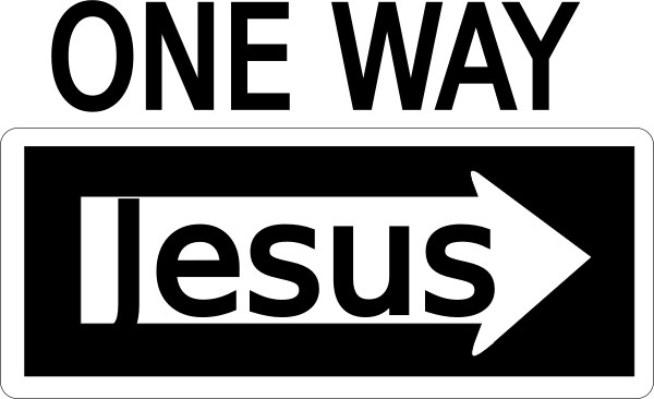 graphic free One jesus clip art. 3 clipart way.