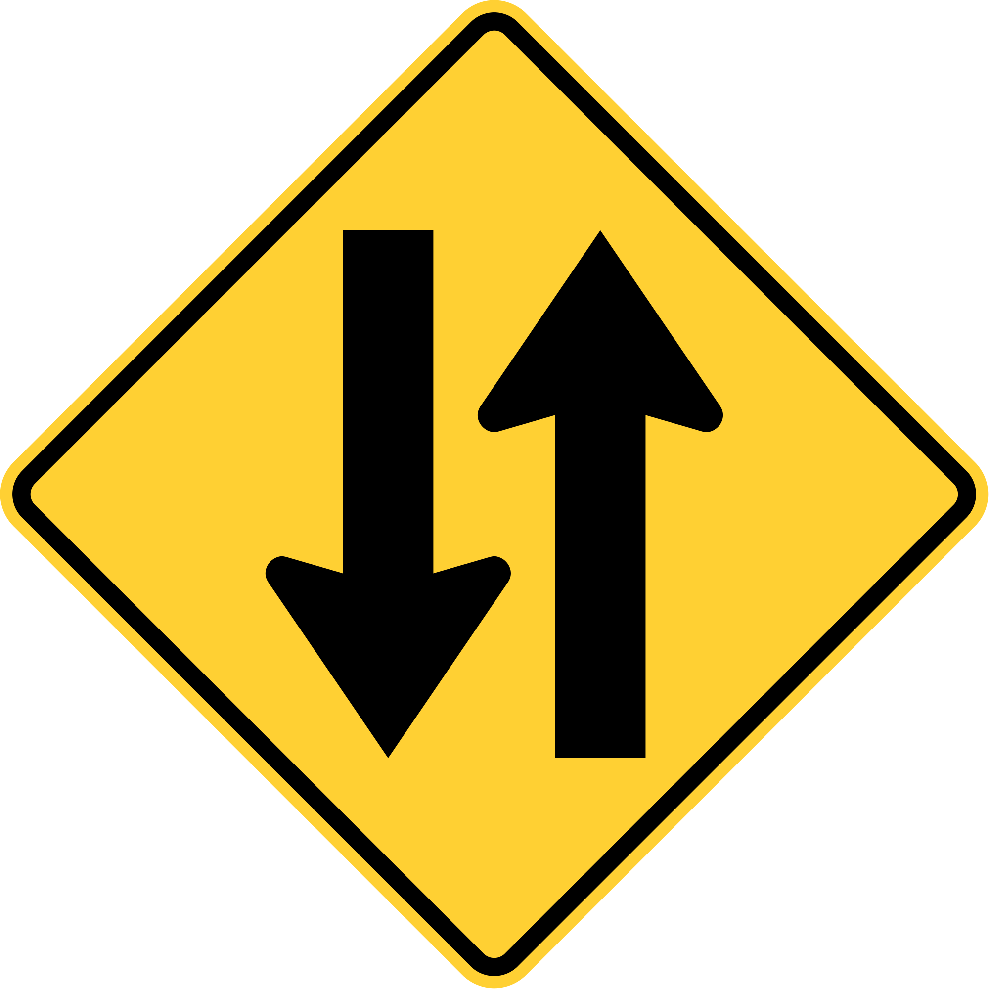 picture download File mutcd w svg. 3 clipart way