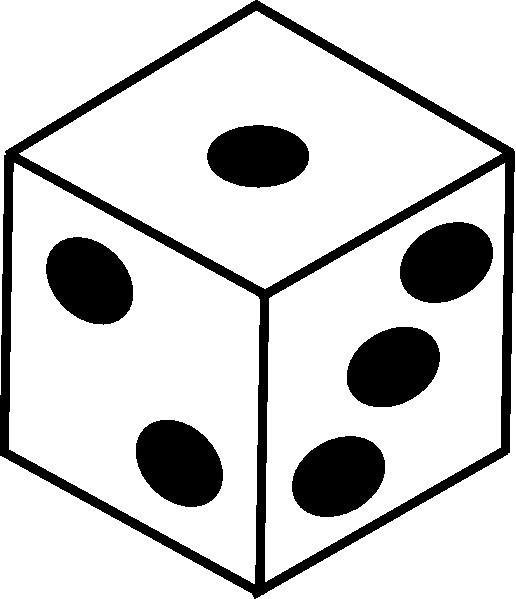 banner vector dice design #118037494