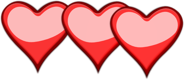 png free library 3 hearts clipart #56477960
