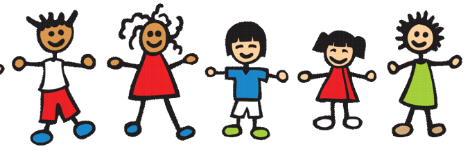 picture free stock Happy kids at getdrawings. Children's church clipart.