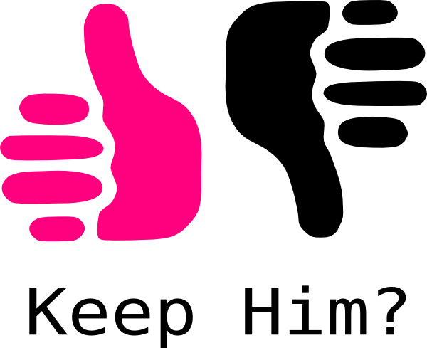 clipart Thumbs clipart opinion. Up down pink and