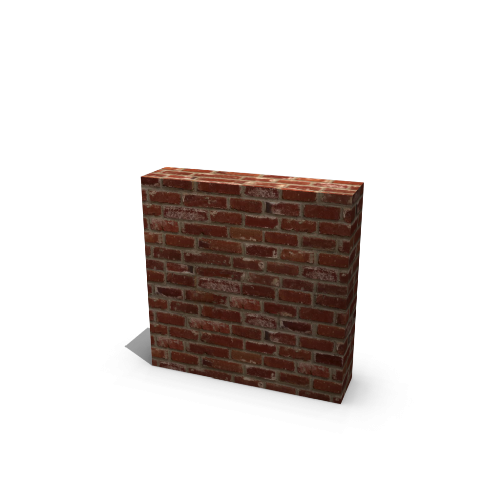 library  collection of d. 3d brick wall clipart