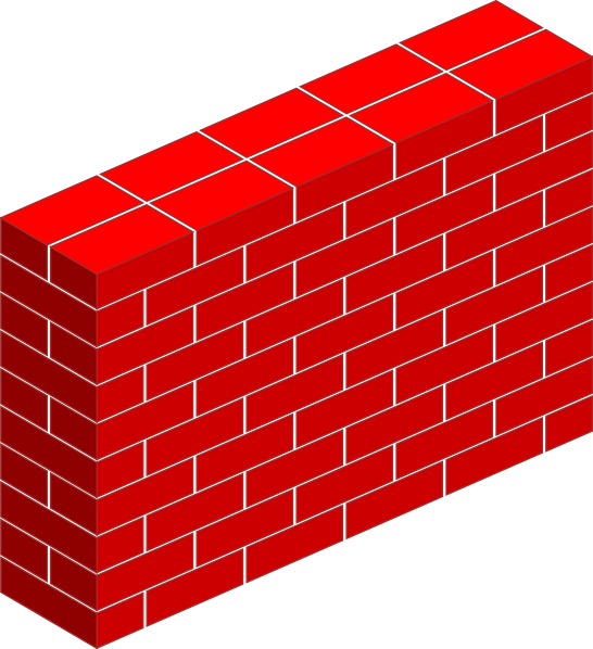 jpg royalty free download Tall Brick Wall Clip Art at Clker