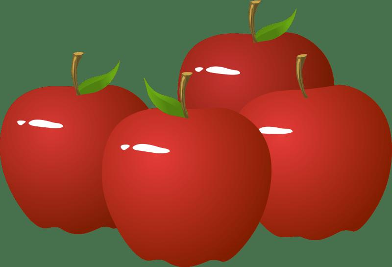 clipart free download  portal. 4 apples clipart
