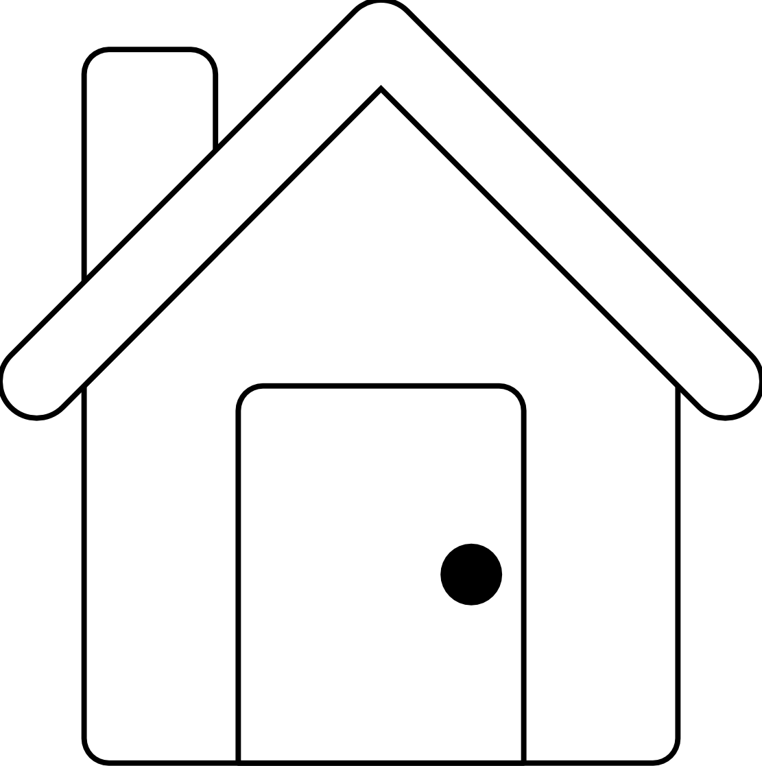 png library House black and white school house clip art black and white free