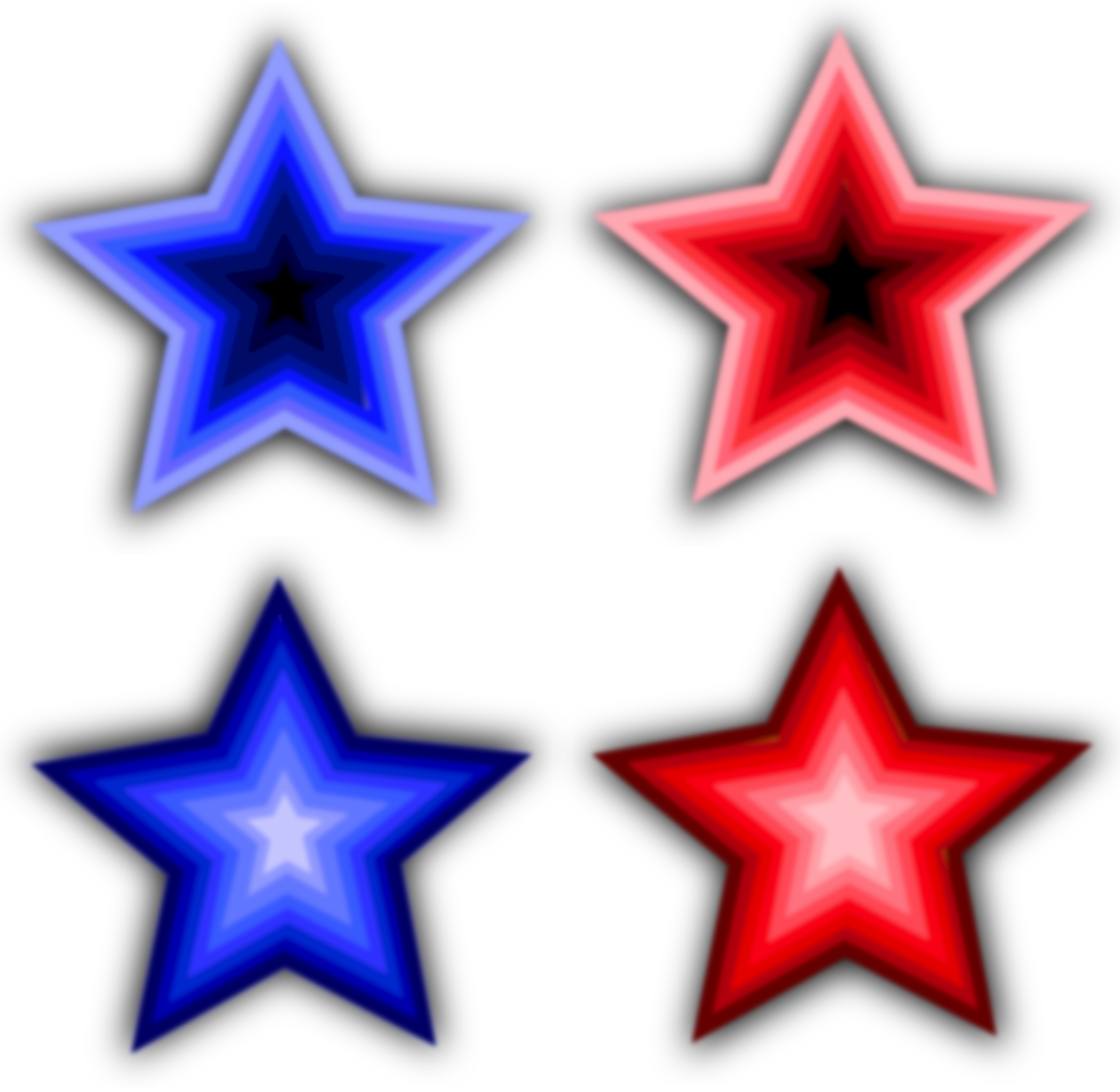 png black and white library Stars simple big image. Four clipart object