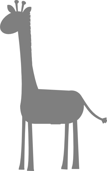 banner free download Silhouette at getdrawings com. 4 clipart giraffe