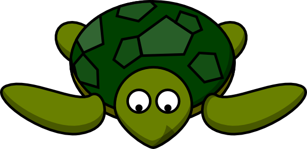 graphic royalty free stock Looking down clip art. 4 clipart turtle