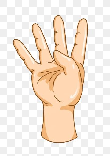 picture Fingers png vector psd. Finger transparent four
