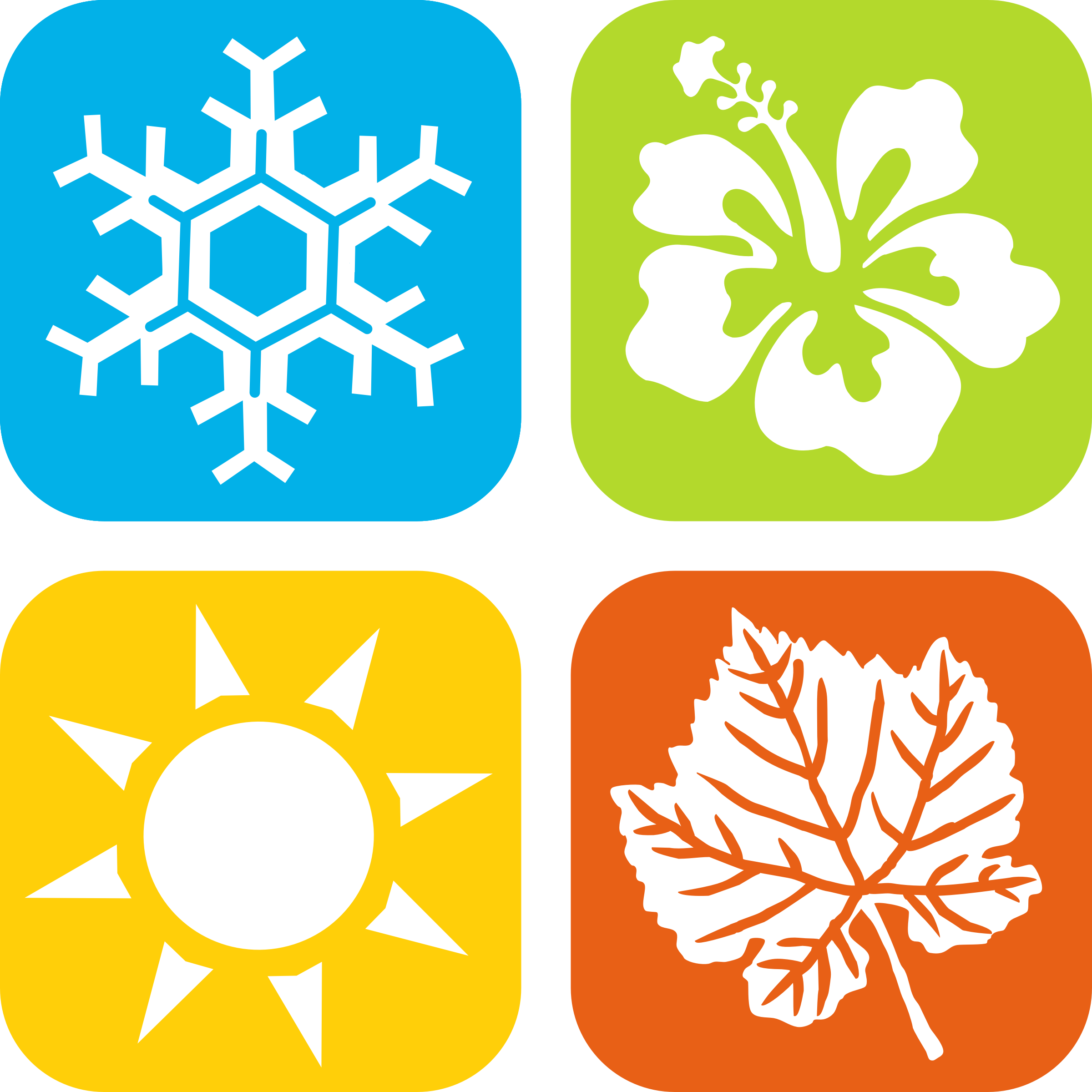 graphic Conditioner clipart black and white. Seasons icons by gdj