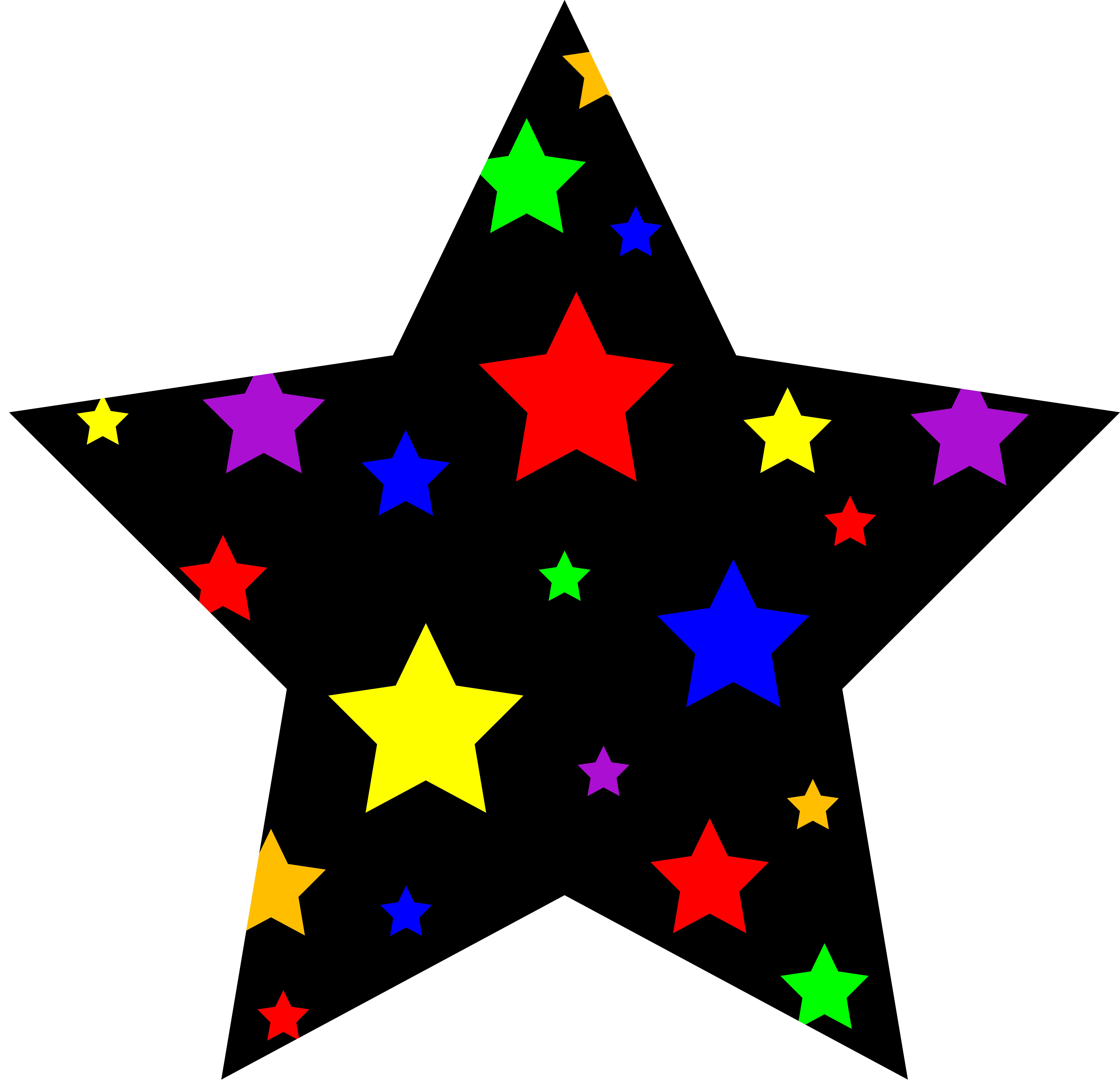picture freeuse Star clip art outline free clipart images