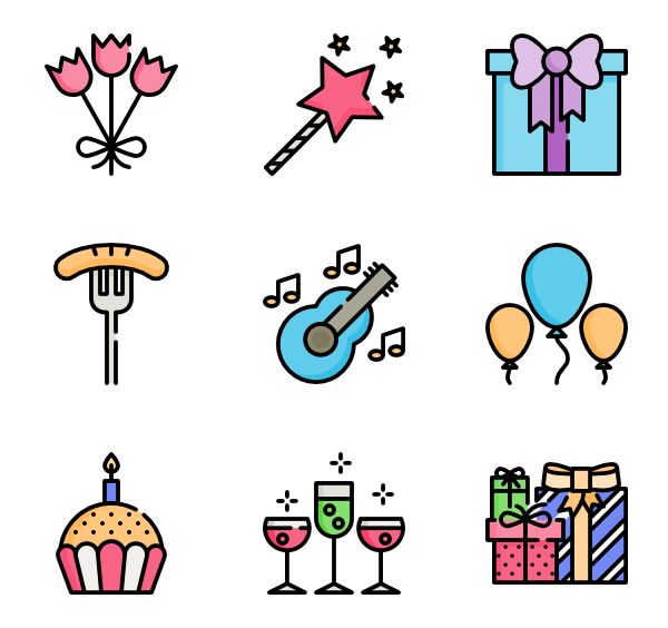 clip library stock Happy Icons