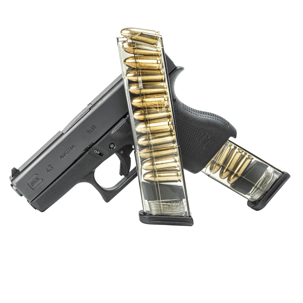 clipart black and white stock ETS Glock