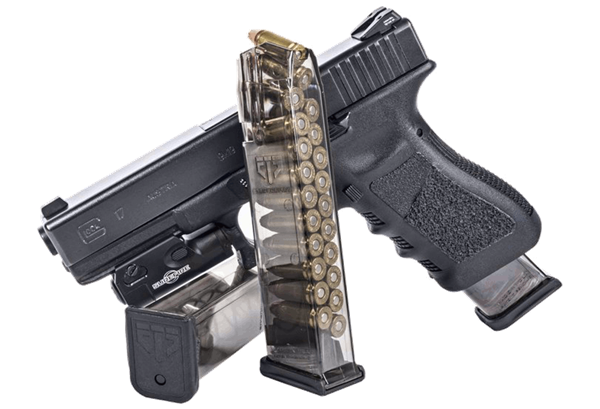 banner black and white library Best Aftermarket Glock Magazines For Maximum Reliability