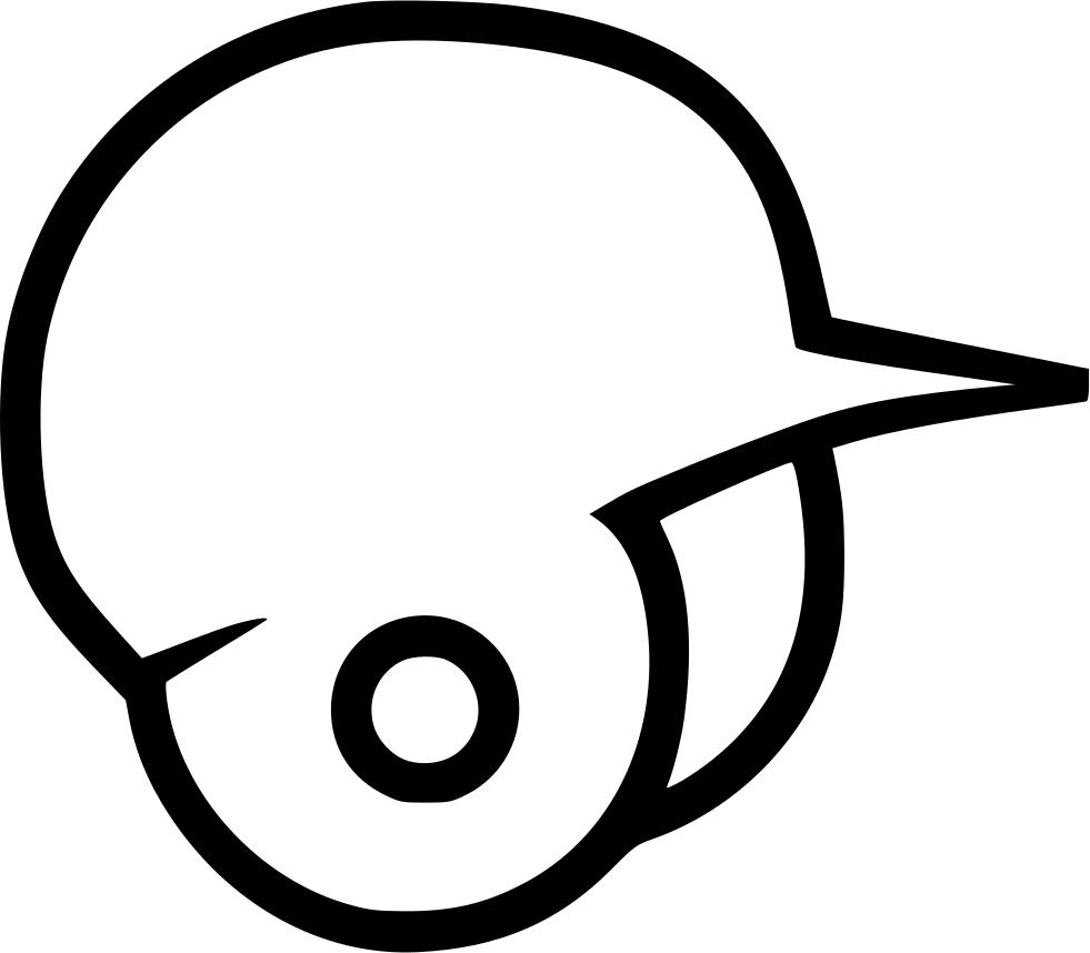 image royalty free Svg baseball draw. Helmet drawing at getdrawings