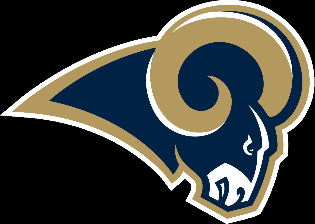 clipart black and white stock Broncos svg stencil. Rams logo original file