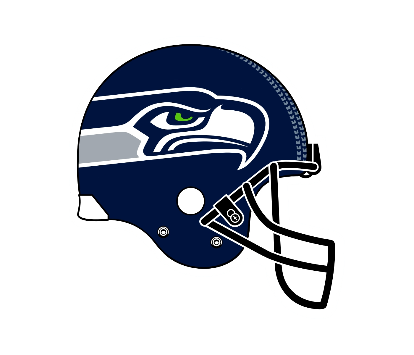 svg royalty free Seattle drawing player seahawks. Logo png transparent svg.