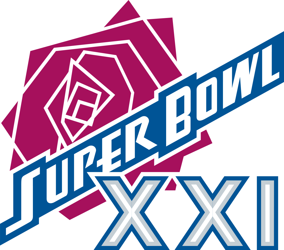 clipart royalty free library Super bowl xxi wikipedia. Broncos svg denver