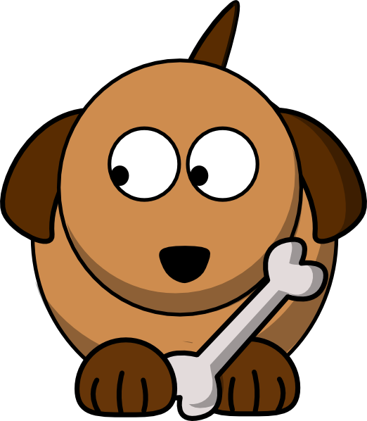 clipart freeuse library Dog Looking Left