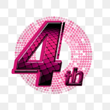 transparent library  th art word. 4th clipart 4th anniversary.