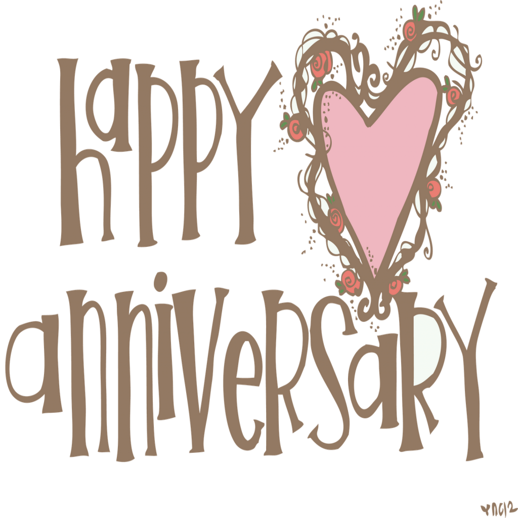 graphic black and white library Beautiful happy th kid. 4th clipart 4th anniversary