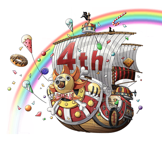 banner Jpn th ship onepiecetc. 4th clipart 4th anniversary