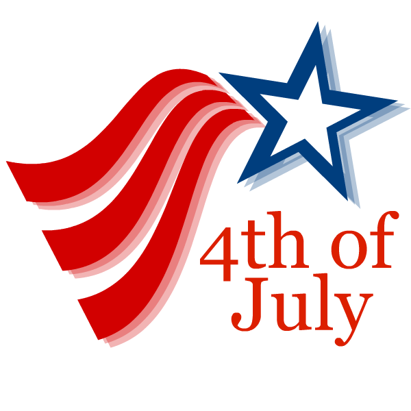 svg royalty free library Free fourth of crafty. 4th clipart 4th july