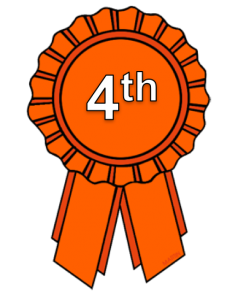 transparent library 4th clipart 4th place ribbon.  on the sub