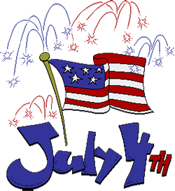 vector royalty free library Free th of july. 4th clipart