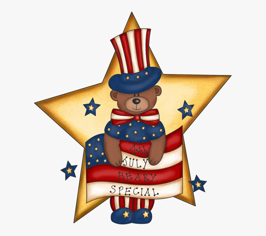 black and white library Fourth of july free. 4th clipart cartoon