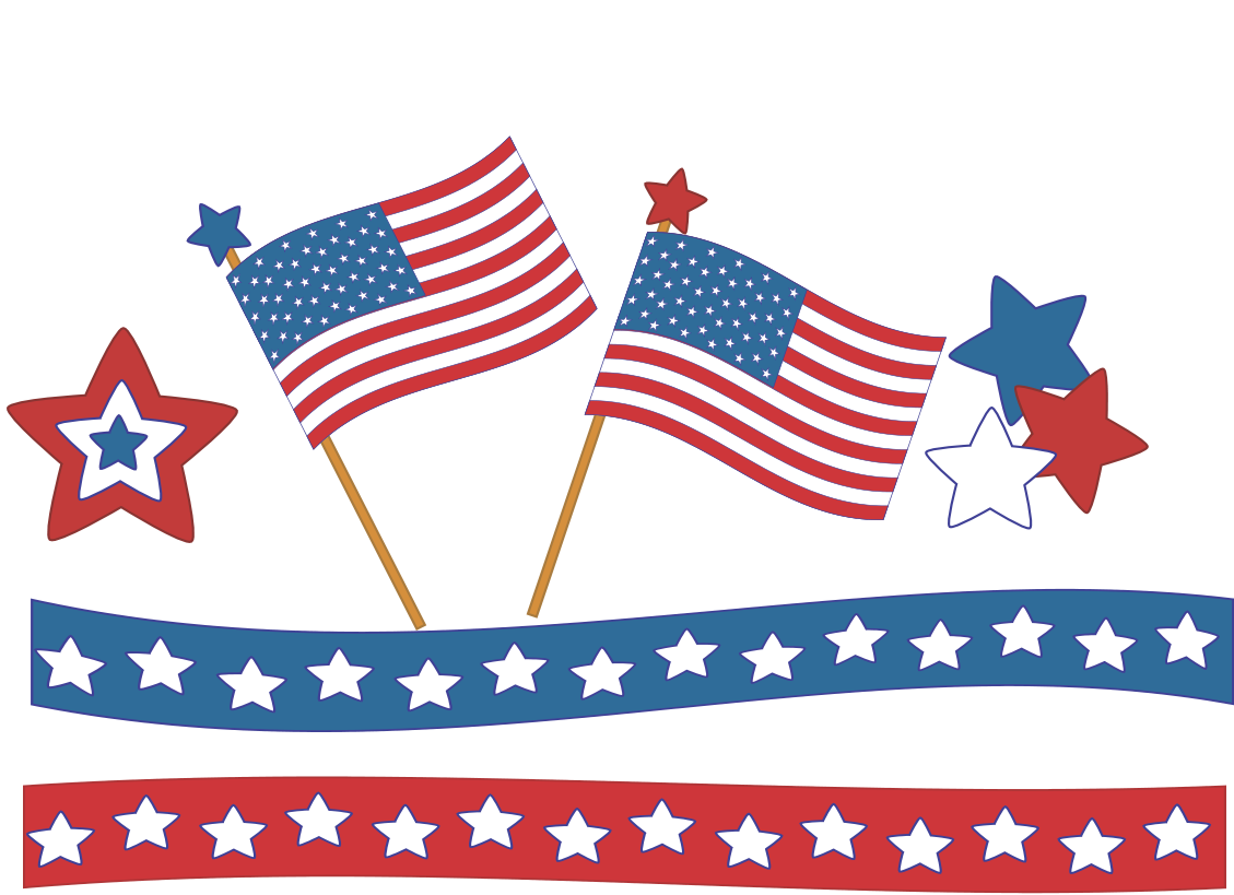 clip art free download Vector flags 4th july. Happy th of clipart