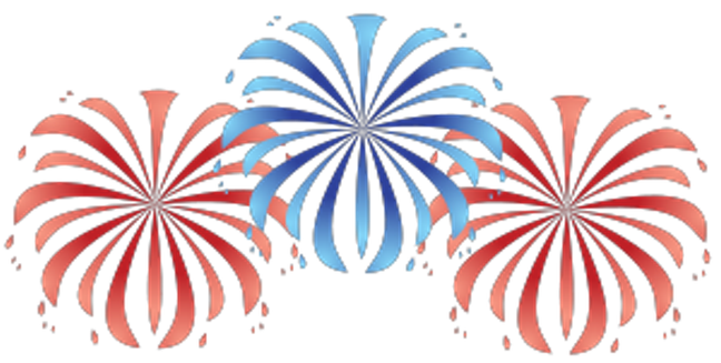 picture free stock 4th clipart july 2017.  th of fireworks
