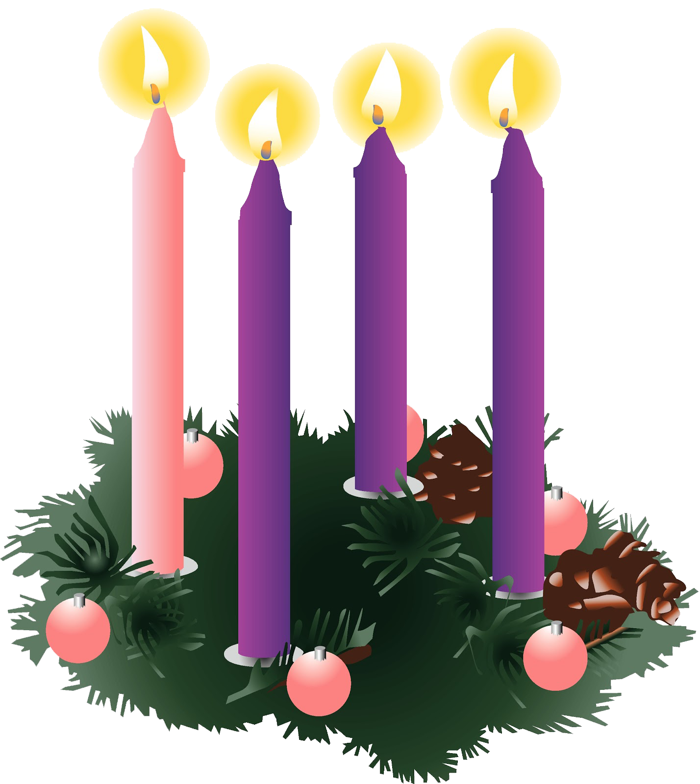 svg free download Wreath th of church. 4th clipart sunday advent.