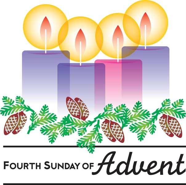 vector free 4th clipart sunday advent. Fourth of st joseph