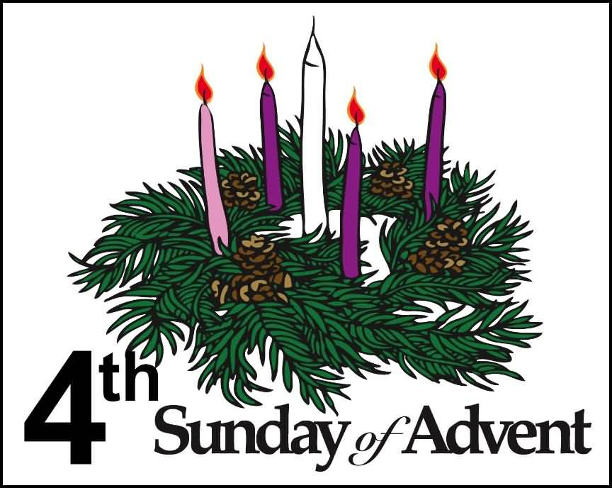clip black and white stock 4th clipart sunday advent.  th of candles.